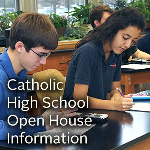 Catholic High School Exam Information